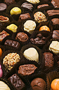 Chocolates Prints - Assorted candy Print by Garry Gay