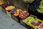 Fruit Markets Acrylic Prints - Assorted Fresh Fruits Of Berries Acrylic Print by Todd Gipstein