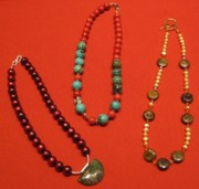 Organic Jewelry - Assorted necklaces by DakotaAnne