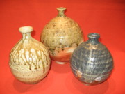 Dakota Ceramics - Assorted vases by Anthony Millette