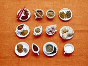 Peppercorns Posters - Assortment Of Spices Poster by Veronique Leplat