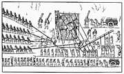 7th Century Photos - Assyria: Transportation by Granger