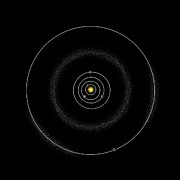 Trojans Prints - Asteroid Belt, Orbital Diagram Print by Claus Lunau