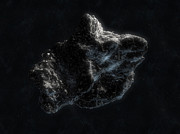Destruction Digital Art - Asteroid In Space by Carbon Lotus