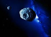 Asteroids Print by Detlev Van Ravenswaay