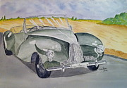 Aston Drawings Originals - Aston Martin - 48 by Eva Ason