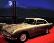Aston Martin Db5 Print by Wingsdomain Art and Photography