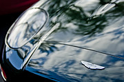 Photographs Photos - Aston Martin Hood Emblem 4 by Jill Reger