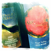 Napa Valley Photos - Astrale Reds by Penelope Moore
