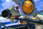 Magic Kingdom Digital Art - Astro Orbiter by David Lee Thompson