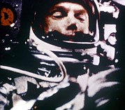 Spaceships Prints - Astronaut John Glenn, Lt. Colonel, Usmc Print by Everett