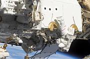 Astronauts Participate Print by Stocktrek Images