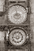 The Walk Of The Apostles Prints - Astronomical Clock Prague Print by Tom Wurl