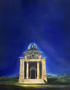 Architecture Paintings - Astronomy by Fernando Alvarez
