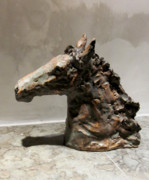 Stoneware Sculptures - At play by Anna Garberg