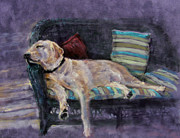 Sleeping Pastels Prints - At Rest Print by Julia Patterson