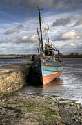 Trawler Photo Metal Prints - At rest Metal Print by Marion Galt