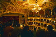 Opera House Photos - At The Budapest Opera House by Madeline Ellis