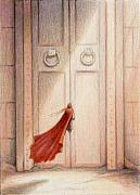 Magic Drawings - At The Door by Amy S Turner