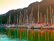 Sail Boats Prints - At the End of the Day Print by Michael Durst
