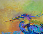 Heron Pastels - At The Fair by Bente Hansen