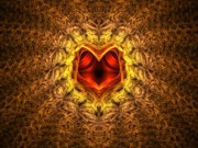 Heart Artwork Digital Art - At the Heart of the Matter by Lyle Hatch