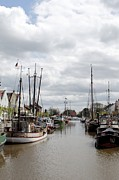 At The Old Harbor Print by Stefan Kuhn
