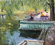 Ylli Haruni - At the Park by the Water