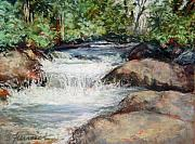 Cool Pastels - At the River by Bonnie Freireich