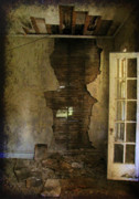 Abandoned Buildings Photo Prints - At the Seams Print by Jessica Brawley