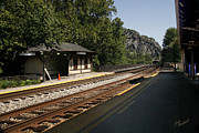 Harpers Ferry Photos - At the Train Station by Judi Quelland