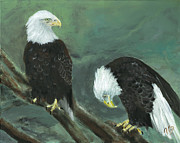 Patriotic Paintings - At Your Service by Jamie Hartley