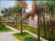 Atalaya Huntington Beach Sc Print by Phil Burton