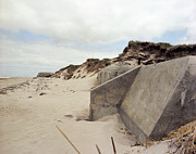 War Photo Originals - Atalntic Wall Bunkers by Jan Faul