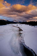Alberta Landscape Photos - Athabasca River by Ginevre Smith
