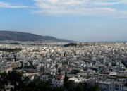 Athens Prints - Athena Print by David Bearden