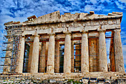 Greek Columns Digital Art - Athens - Parthenon by Hristo Hristov