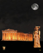 Ancient Rome Mixed Media - Athens Fashion by Eric Kempson