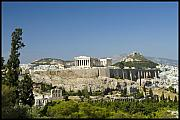 Julia Bridget Hayes Metal Prints - Athens Metal Print by Julia Bridget Hayes