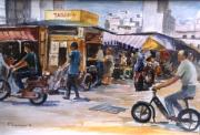 George Siaba - Athens.The old market