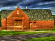 Athletic Art - Athletic Building by Thomas Young