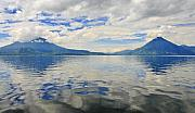 Hunt Metal Prints - Atitlan Metal Print by Skip Hunt