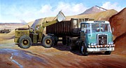 Commission Framed Prints - Atkinson bulk tipper Framed Print by Mike  Jeffries