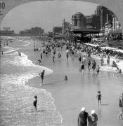 Beach Photograph Posters - ATLANTIC CITY, 1920s Poster by Granger