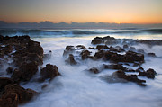 Coral Cove Prints - Atlantic Dawning Print by Mike  Dawson