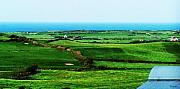 Pastureland Prints - Atlantic View Doolin Ireland Print by Teresa Mucha