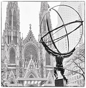 January Photos - Atlas and the Cathedral by Vicki Jauron
