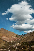 Morocco Metal Prints - Atlas mountains 2 Metal Print by Marion Galt