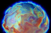 Simulation Photos - Atmospheric Humidity, Computer Simulation by Nasa