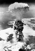 Act Man Photos - Atomic Bomb, Nagasaki,  August 9th, 1945 by Science Source